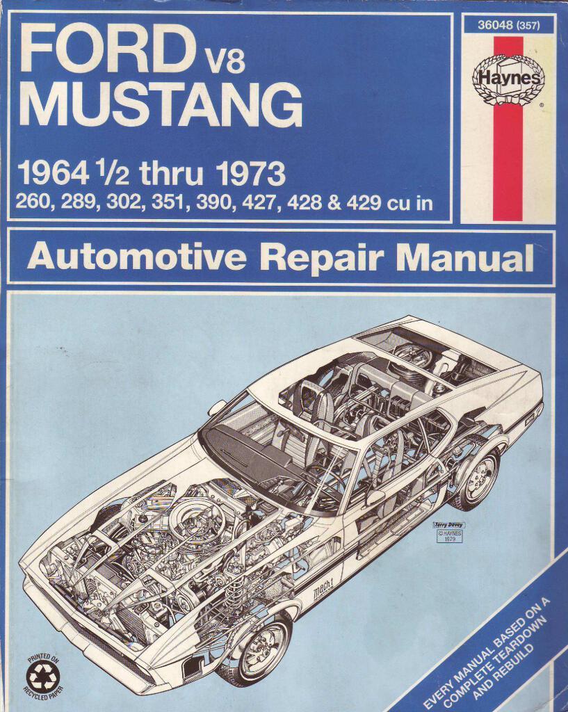 Mustang 1 Haynes Repair Manual Pdf  139 Mb