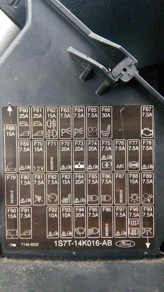 Elektroinstalace Mondeo Iii Pojistky Rele Schema Mondeo Mk Iii
